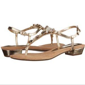 Nina Kelisha Flat Embellished Sandal